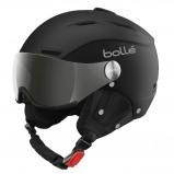 Afbeelding van Bollé Backline Visor Helm Soft Black Silver 54 56 Cm