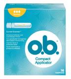 Afbeelding van O.B. Tampons ProComfort Compact Applicator Normaal 16st