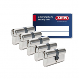 Afbeelding van ABUS S6+ cilinder met kerntrekbeveiliging (5x) SKG***