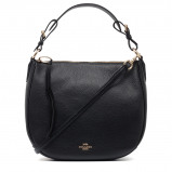 Bilde av Coach Polished Pebble Leather handbag 35593 gdblk