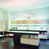 Bilde av Designer Adjustable Pendant Lamp White Pirce Suspension