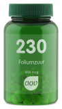 Afbeelding van Aov Foliumzuur 400 Mcg 230 (100Tab) OAV6043