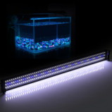 """Imagem de """"""""""""46 """"""""""""""""Extensível 32W 180 LED SMD 2835 Branco Azul Light 2 Modos de Suporte Aquarium Fish Lamp Tanque"""""""""""""""
