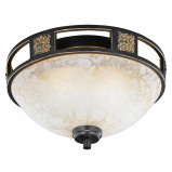 Abbildung von Country Round Ceiling Lamp 33 Rust Quinta