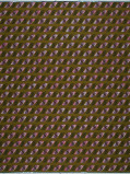 Abbildung von Vlisco VL01403.009.06 Brown/Purple African print fabric Wax Hollandais Geometrical