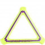 Afbeelding van Aerobie boomerang 29 x 26 cm geel