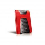 Afbeelding van Adata DashDrive Durable HD650 1000GB Rood externeharde schijf RED