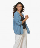 Imagine din American Vintage Cardigan Boolder in Sky Blue