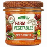 Afbeelding van Allos Farm Vegetables Pittige Tomaat 135g