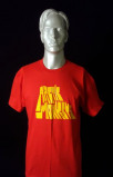 Image of Arctic Monkeys Live at Lancashire Country Cricket Ground Red 2007 UK t shirt T SHIRT
