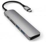 Image de Adaptateur Satechi Mac Type usb c vers HDMI Hub V2 Gris 411525