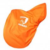 Bild av Horka Saddle Cover With Horka Logo's Orange