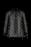 Abbildung von FSTVL by MS Mode Damen Bluse mit Stickerei Schwarz