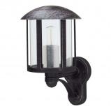 Afbeelding van Albert Leuchten genefe buitenwandlamp in landhuisstijl zwart, gegoten aluminium, acrylglas, E27, 75 W, energie efficiëntie: A++, H: 35 cm