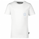 Afbeelding van Airforce B0589 kinder t shirt wit