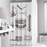 Afbeelding van Sealskin Barber douchegordijn 180x200cm