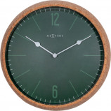 Afbeelding van NeXtime Cork wandklok (Kleur: groen)