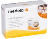 Afbeelding van Medela Quick Clean Sterilisatie Magnetronzakjes 5 Stuks 008.0040
