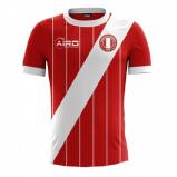 Image of 2017 2018 Peru Away Concept Football Shirt (Kids)