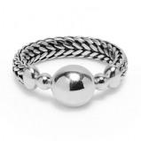 Afbeelding van 002 Armband zilver lengte 17 cm (C)