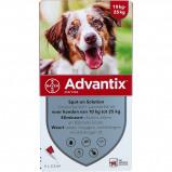 Image de Advantix 250/1250 Spot On Chien 10 25kg 4 pipettes