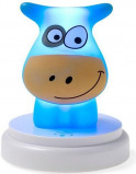 Image of Alecto Naughty Cow children's lamp