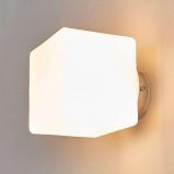 Afbeelding van ACB ILUMINACIÓN vierkante wandlamp RUI, voor badkamer, glas, G9, 28 W, energie efficiëntie: A++, L: 10 cm, B: cm