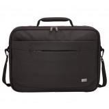"Afbeelding van Case Logic Advantage Laptop Briefcase 15.6"" Black Schoudertassen"