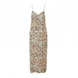 Afbeelding van Aaiko gebloemde maxi jurk mintgroen
