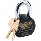 Afbeelding van Draper Tools Expert Hangslot met 2 sleutels RVS 63 mm 64206