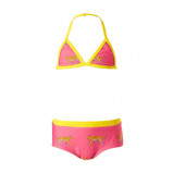 Afbeelding van Claesen's bikini met print roze