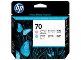 Bilde av HP 70 lys cyan + lys magenta skriverhode Original HP C9405A