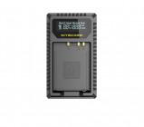 Afbeelding van Nitecore FX1 USB oplader voor Fujifilm batterij NP W126 en WP126S zaklamp