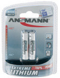 Afbeelding van Ansmann 2x Micro Lithium Batterij