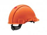 Afbeelding van 3M Peltor G3000 Veiligheidshelm met draaiknop Oranje