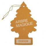 Afbeelding van Arbre Magique luchtverfrisser 12 x 7 cm Cocos geel/bruin