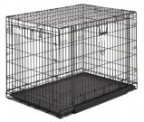 Afbeelding van Midwest Ovation Trainer Hondenbench (XXL) 123x79x84cm Zwart