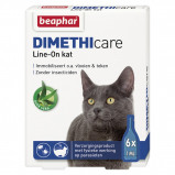 Obrázek Beaphar Flea Treatment DIMETHIcare Line On Cat 6 Pipettes