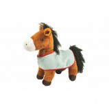 Image of HKM Big Soft Horsestanding Blanket Brown