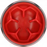 Afbeelding van Eat Slow Live Longer Amaze Flower Red M