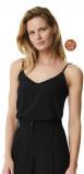 Image of LaDress Ariana crepe de chine camisole black