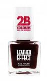 Afbeelding van 2B Nagellak Leather Effect 618 Bordeaux
