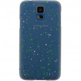 Afbeelding van Xccess Cover Spray Paint Glow Samsung Galaxy S4 I9500/I9505 Blue Xcc