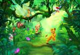 Afbeelding van Lion King Jungle 8 delig Fotobehang 368x254cm Film