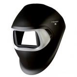 Afbeelding van 3M 751190 Speedglas 100 Laskap zwart zonder hoofdband/lasfilter/zilveren voorpaneel