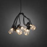 Afbeelding van Konstmide CHRISTMAS lichtketting Biergarten 20 druppels helder warmwit, kunststof, 0.12 W, energie efficiëntie: A, L: 475 cm