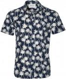 Afbeelding van Anerkjendt Overhemd Slim Fit Donkerblauw L