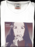 Image of Alanis Morissette Hands Clean Skinny Fit Size Medium 2002 UK t shirt PROMO T SHIRT