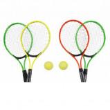 "Afbeelding van Eddy Toys Tennisset 23"" 2 rackets inclusief 1 tennisbal"