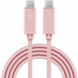 Afbeelding van Rock Charge/Sync Data Cable USB C to 3.0 1m. Rose Gold